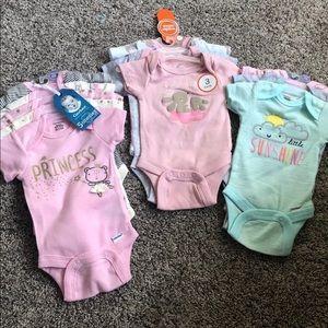 NWT- new newborn onsie bundle